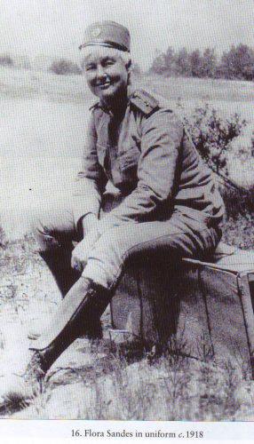 Flora Sandes, 1918