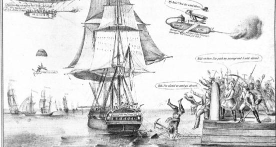 Nathaniel Currier 1849 Print