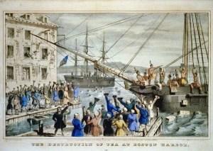 Boston Harbor Litho