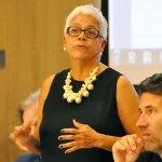 Committee chair Ninfa Segarra