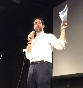 """State Senator Daniel Squadron: """"When I first took office, in 2009, I would ask folks, 'how many people in this room have ever lived in a rent-regulated or subsidized apartment?' Eight years ago, among people over age 40 or 45, seventy percent would raise their hands. For people under 45, around 15 percent would raise their hands. Now, I don't even ask the question any more."""""""