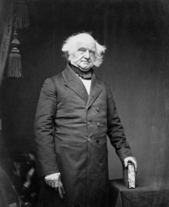 Martin Van Buren. Watch how Kramer had a lucky escape from the street gang the Van Buren Boys