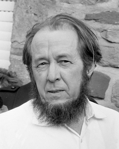 """Aleksandr Isayevich Solzhenitsyn """"A man is happy so long as he chooses to be happy and nothing can stop him"""""""