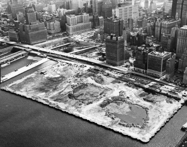 The Beginning of Battery Park City