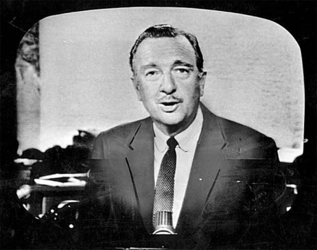 """Walter Cronkite, known as the """"most trusted man in America"""" """"There is no such thing as a little freedom. Either you are all free, or you are not free."""""""