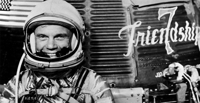 John Glenn and Friendship 7