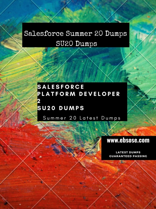 Salesforce Platform developer 2 dumps