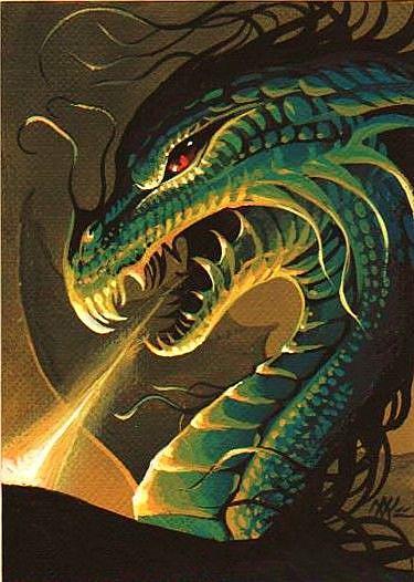 Dragon Fire by EBSQ Artist Nico Niemi