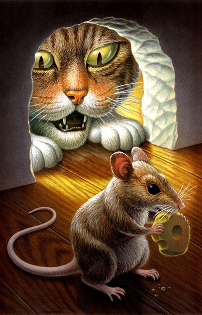 "Member's Choice Winner ""Cat and Mouse"" by John Thompson"