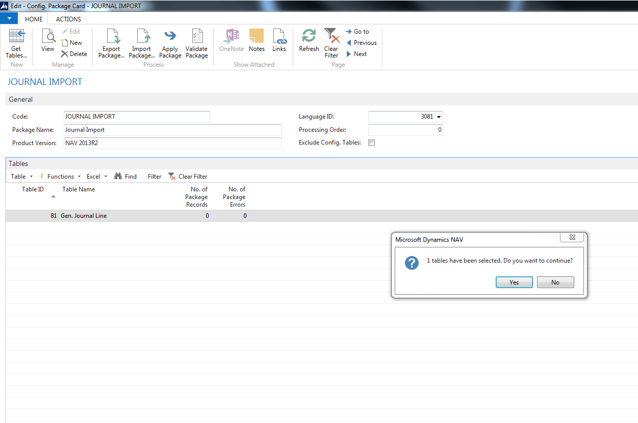 Excel journals and Microsoft Dynamics NAV Image 3B