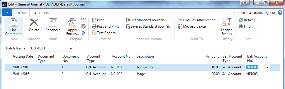 Microsoft Dynamics NAV Capturing data image5