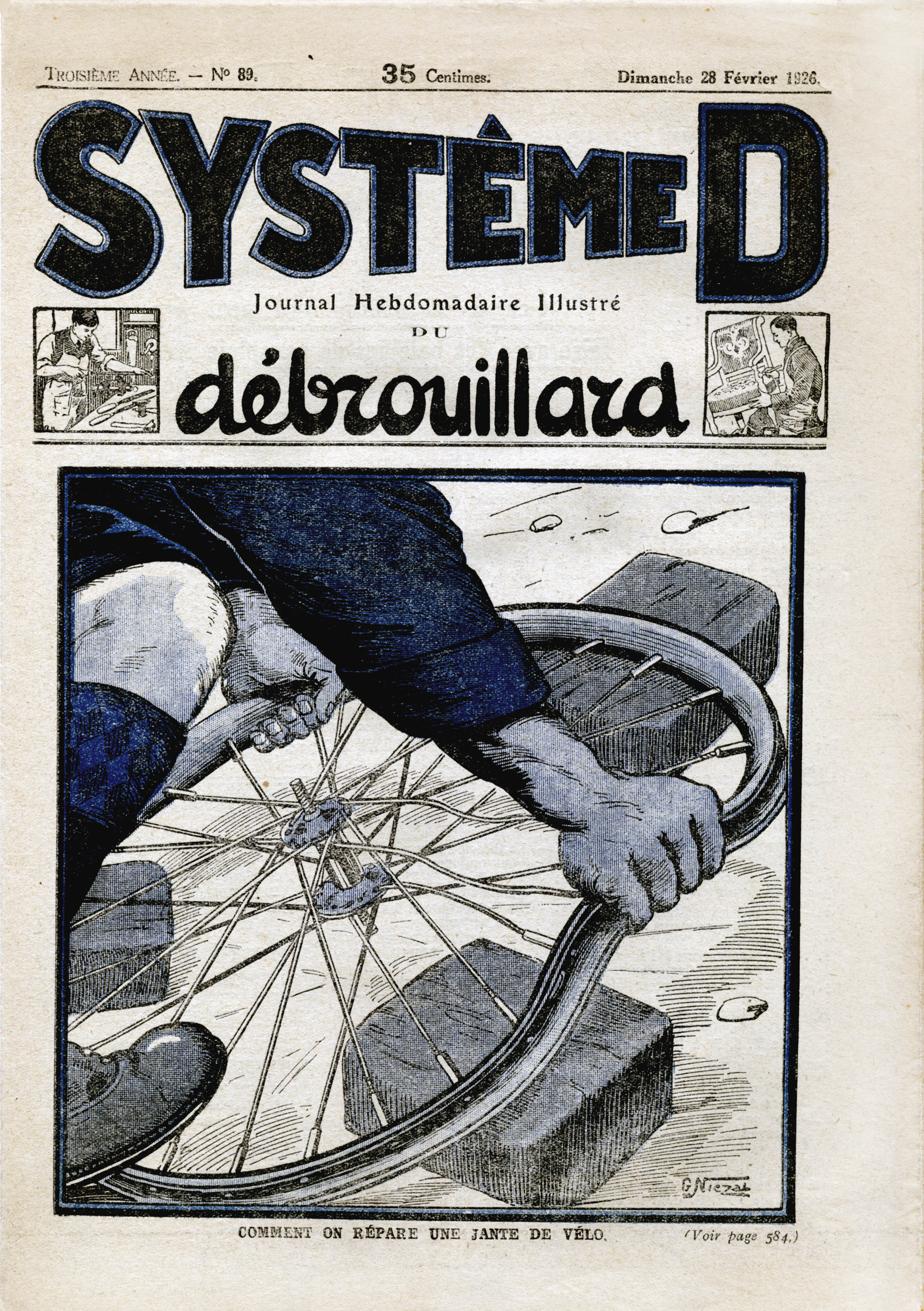 System D Cover from 28 February 1926