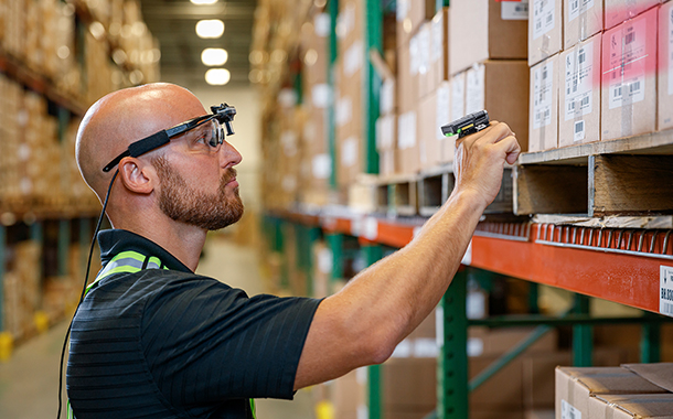 Zebra offers warehouse solutions that increase worker productivity
