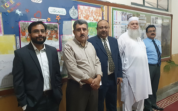 Konica Minolta ME donates digital press to support printing education in Pakistan