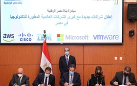 Major tech companies sign MoUs under Digital Egypt Builders Initiative