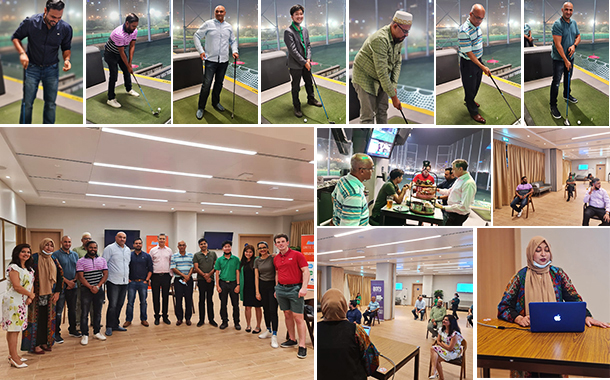 CIOs attend nutrition therapy and unwind with golf session at Reboot Unite CIO Meet