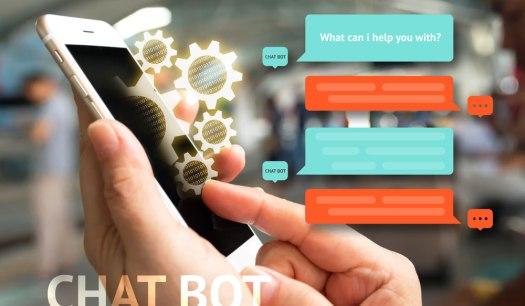 um assistente virtual via chat responderia possíveis dúvidas