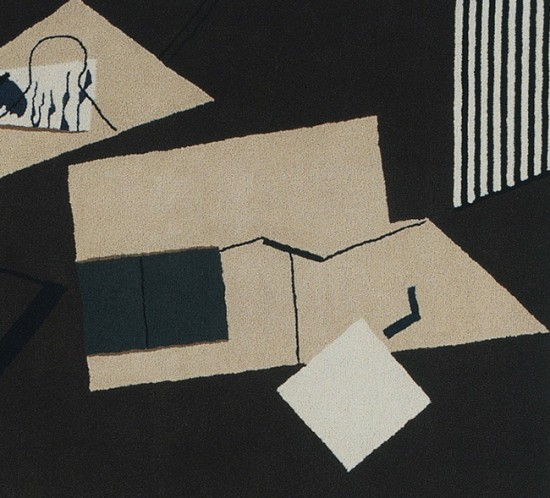 tapis collage in eileen gray
