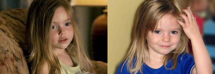 Madeline O'Brien en 'Adiós, pequeña, adiós' y Madeleine McCann