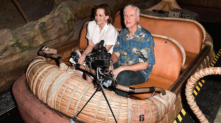 James Cameron en Pandora: el mundo de Avatar, Disney World