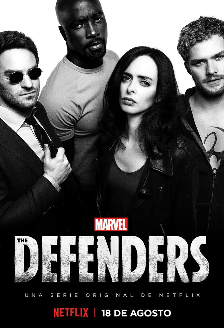 Póster oficial de 'The Defenders'