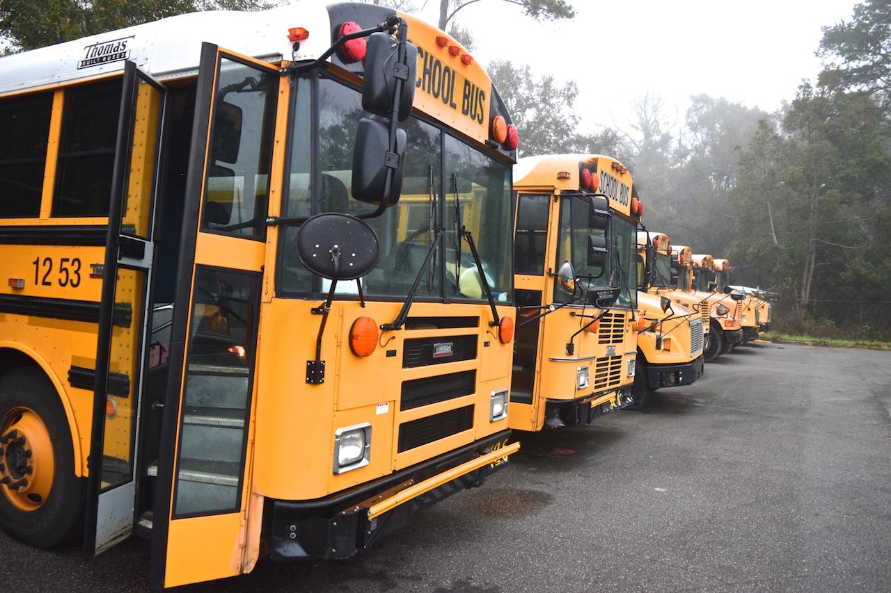 School bus shuffle -