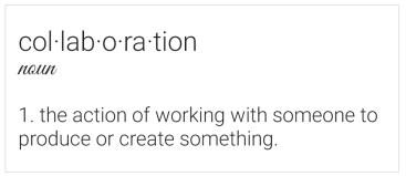 collaboration globalization
