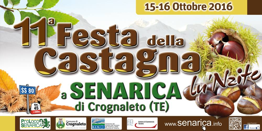 Senarica castagna Abruzzo