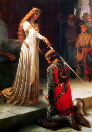 The Accolade - Edmund Blair Leighton, 1901