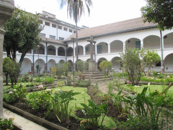 Interior Courtyards of the Convent