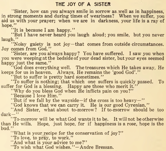 The Joy of a Sister - June 1916