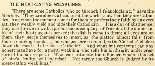 The Meat-Eating Weaklings - July 1916