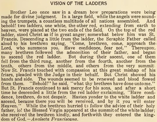 Vision of the Ladders - September 1916