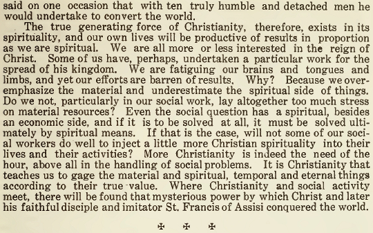 The Need of Spirituality - The Franciscan Herald - October 1917 - 2