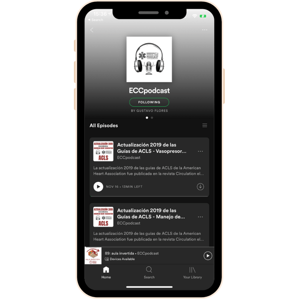 eccpodcast spotify screenshot