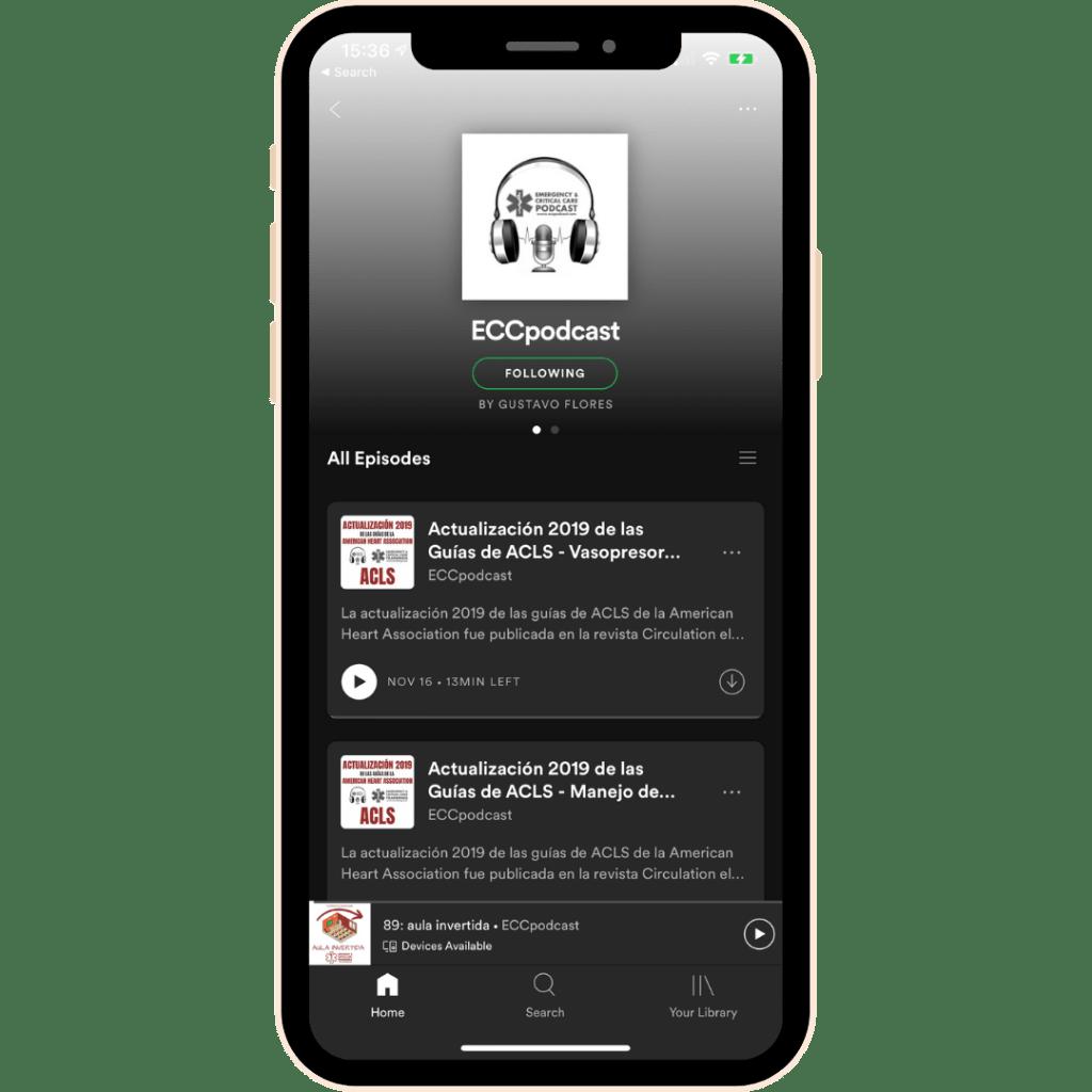 eccpodcast spotify screenshot