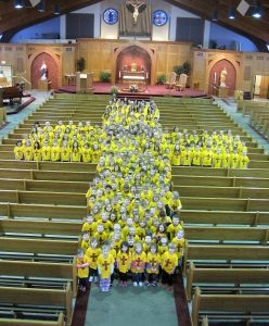 """We are """"The School with the Cross!"""""""