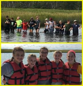 8th grade students attend annual Wallops Island trip