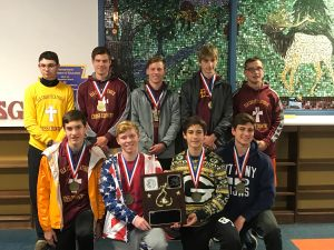 "Crusader cross country team brings home D9 ""A"" title"