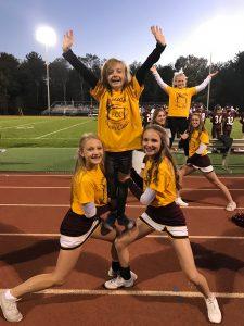 """Fall cheerleaders host """"Cheer Clinic"""""""