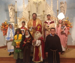 St. Leo Catholic School celebrates All Saints' Day with special Mass