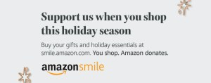 Shopping through AmazonSmile this holiday season supports ECCSS!
