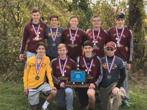 Crusaders place second at PIAA Cross Country Championships