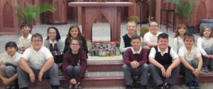 "St. Boniface students ""feed the hungry"" this Thanksgiving season"
