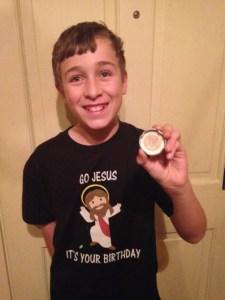 St. Leo sixth-grader questions Snapple trivia