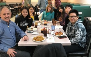High School international students celebrate Chinese New Year