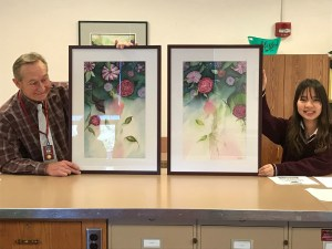 International student creates beautiful artwork