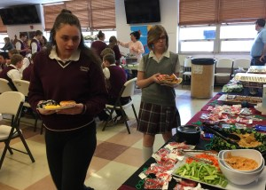 Reinhart Food Service hosts food show at HS/MS building