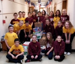 Fifth-grade students make contribution to Children's Hospital of Pittsburgh
