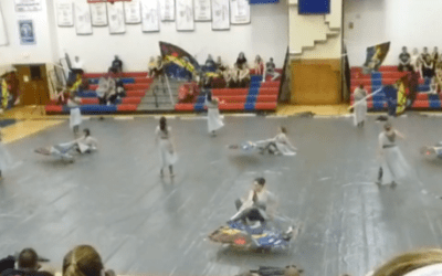 Video: ECC Indoor Guard performance at Chapter XI Championships